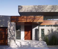 modern exterior doors entry midcentury with crafted front door