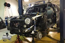 jeep liberty suspension bds project kj update liberty on a diet bds
