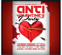 valentines flyer template flyer templates for clubs business marketing page 26 of 60