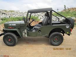 1988 Mahindra Cj 500d 4wd Diesel Jeep Team Bhp