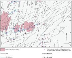 geology of the llanidloes area geological description structure