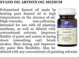 paints mediums oil