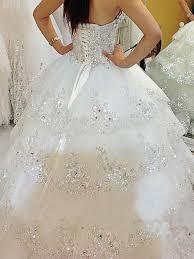 bling up wedding dresses
