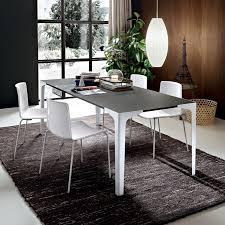 Grey Extendable Dining Table Garrick Grey Extending Dining Table Arredaclick