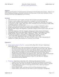 Quality Engineer Sample Resume Qa Engineer Sample Resume