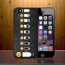 Phone Case Meme - battery life evolution funny emoji meme smiley art hard phone case