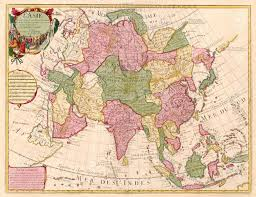 Map Of Asia by Ancient Map Of Asia Stock Photo Picture And Royalty Free Image
