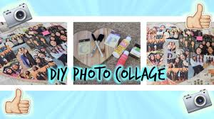 diy photo collage perfect gift for a friend youtube