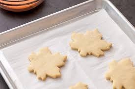 maple sugar leaf cookies