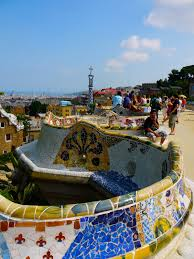 Serpentine Bench Come What May Park Guell