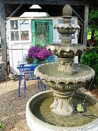 Garden Fountains And Outdoor Decor Best 25 Concrete Fountains Ideas On Pinterest Stone Garden