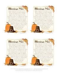 blessings mix great favor for thanksgiving or diy gift for