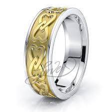 celtic wedding ring celtic wedding bands heart celtic wedding ring comfort fit 6mm