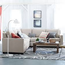 Discount Wool Rugs Henry 3 Piece L Shaped Sectional West Elm