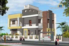 home design 3 story house plan and elevation 3521 sq ft kerala