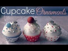 cupcake ornaments diy how to