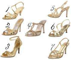 gold bridesmaid shoes gold pumps 100 fashionista inspiration gold