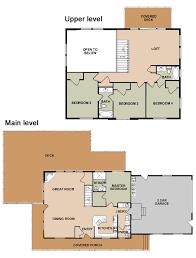 Ponderosa Floor Plan Whispering Pines Zion Vacation Home Rental Zion Ponderosa