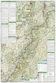 New York Appalachian Trail Map by Shenandoah National Park National Geographic Trails Illustrated