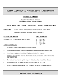 Anatomy And Physiology With Lab Online Free Online Materials