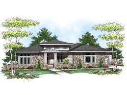 prairie style ranch homes kilmory prairie style home plan 051d 0579 house plans and more