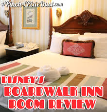 a pinch of pixie dust disney u0027s boardwalk inn water view room tour