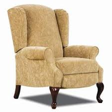 lane hi leg recliners mila contemporary high leg recliner with