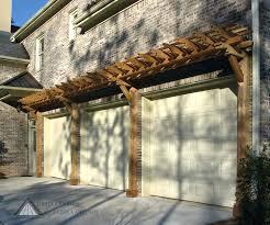 garage pergola construction details outdoor pergola designs