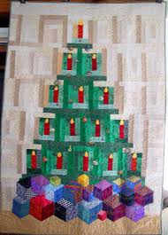 another christmas tree quilt