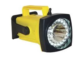 hand held spot light amazon rechargeable spot flood led hand held flashlight yellow charger ac
