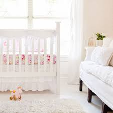 Nursery Bedding Set White Crib Bedding Set White Baby Bedding White Baby Bedding