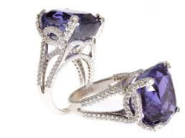tanzanite stones rings images Custom designed tanzanite ring by roman jewelers jpg