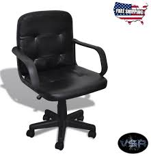 Desk Chair Ergonomic Office Depot Leather Cheap Swivel Gaming Height