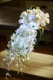 Cascading Bouquet How To Arrange Flowers Hand Tied Cascade Wedding Bouquet Youtube
