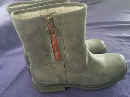 quiksilver womens boots designer quiksilver logger sherpa boots womens uk size 6