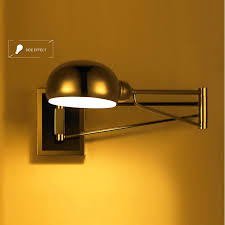 Wall Mounted Reading Light Bedroom Chrome Wall Sconce Bedside Wall Fixtures Lighting For Bedroom In
