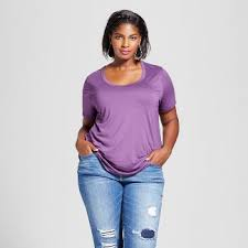 plus size tops target