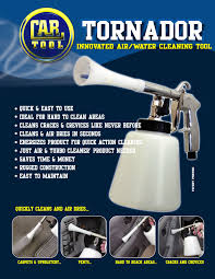 Tornado Upholstery Cleaner Tornador Interior Cleaning Tool Auto Detailing Business Blog
