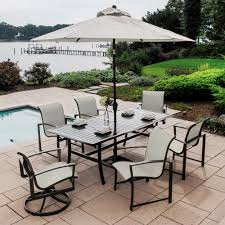 Agio 7 Piece Patio Dining Set - agio patio furniture customer service patio decoration