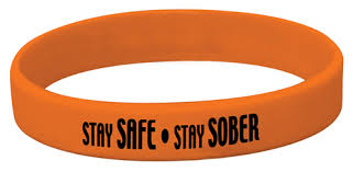 red silicone bracelet images Silicone bracelet red ribbon week stay safe stay sober red jpg