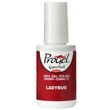 supernail progel nail polish ladybug 14ml professional nails