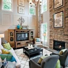 Id Love To Open Up My Half Walls Now That My Kids Are Older - Two story family room