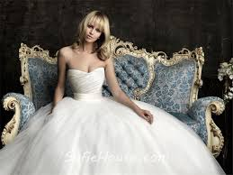 plain strapless wedding dress simple gown princess strapless plain satin tulle wedding