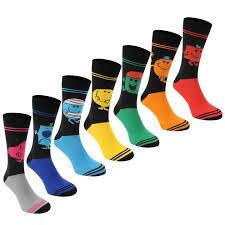 mr mr 7 pack crew socks mens mens socks