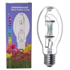 Grow Light Bulb 400w Plantmax Metal Halide Hydroponic Grow Light Bulbs