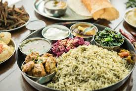 cuisine indien non veg thali picture of le qualite snack bar indien
