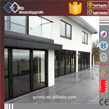 double glazing built in blinds aluminium office partition doors