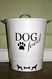 Decorative Dog Food Storage Container - dog food container decorative best decoration ideas for you
