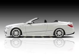 convertible mercedes black piecha design releases tuning kit for mercedes benz e class