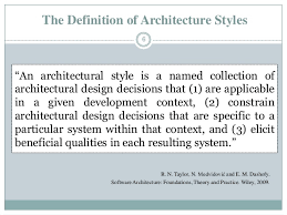 Architectural Design Styles Architectural Styles And Patterns